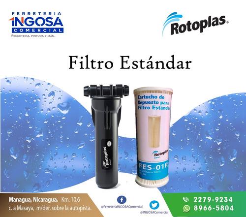 filtro estándar. rotoplas