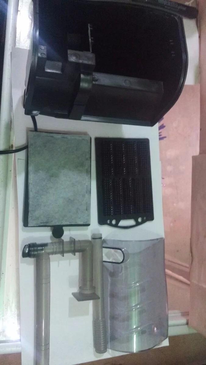 Filtro externo de cascada peceras de 200 lt envio for Filtro para pecera