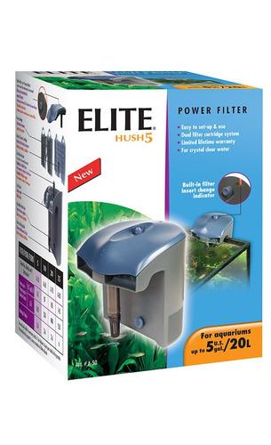filtro externo de mochila elite hush 5 mini (20l) + envío