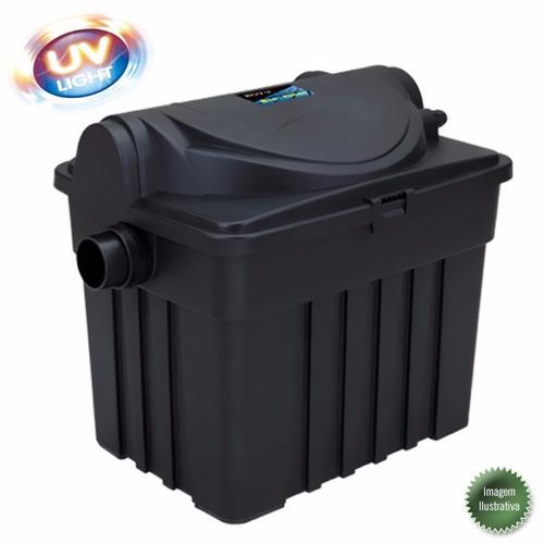filtro externo para lagos boyu yt-6000 uv 9w 1500l/h 110v