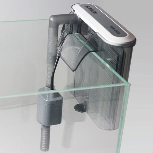filtro externo sunsun hbl-502 500l/h 220v aquarios até 100 l