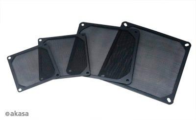 filtro fan de alumínio - akasa - 120 mm ( grm120-al01-bk )