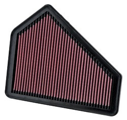 filtro flujo k&n reemplazo 33-2411 cadillac cts v6 3.6 08-