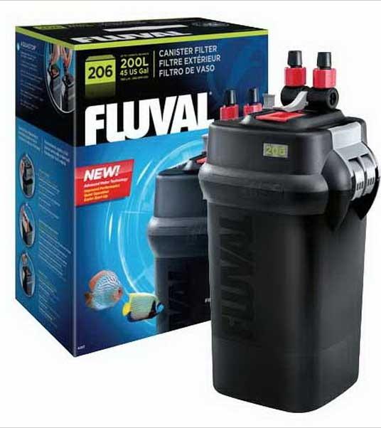 Filtro fluval 206 para peceras de 200 litros daa 4 387 for Filtro para pecera