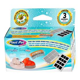 Filtro Fonte Plast Pet Com 3 Unidades