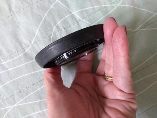 filtro fotográfico hoya 49  uv (0)- japan