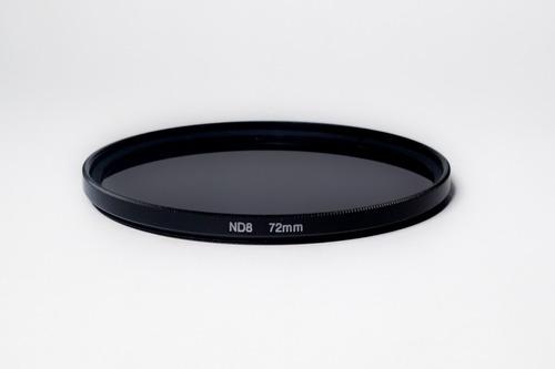 filtro fotográfico nd densidade neutra 8 nd8 72mm