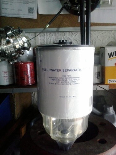 filtro franig trampa gasoil  mercedes benz