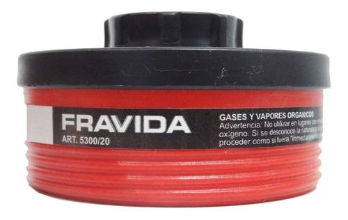 filtro fravida 5300/20 para vapores organicos y pintura