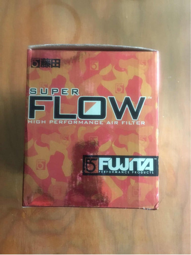 filtro fujita, filtro de alto flujo