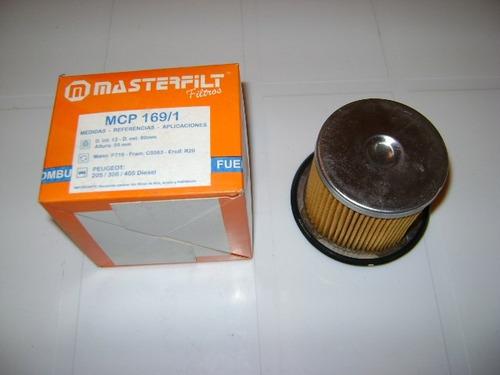 filtro gas oil masterfilt
