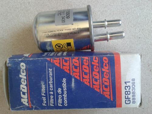 filtro gasolina gf831 acdelco trail blazer