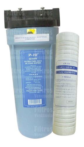 filtro geyser 10pulg.- tanque agua casa apartamento negocios