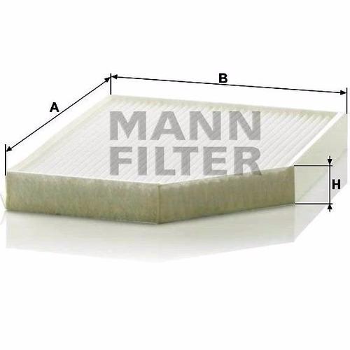 filtro habitaculo mann audi a4 2.0 tdi cmfa (desde 11/2007)