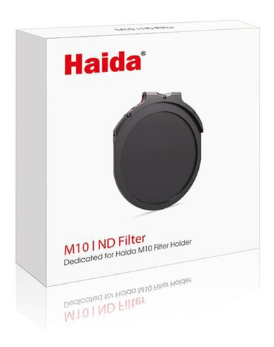 filtro haida hd4262 drop-in encastrable para porta filtros haida m10 nano-coating nd3.0 sólido 1000x/10 pasos