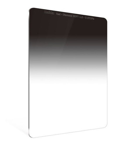 filtro haida hd4279  red diamond soft grad nd graduado 1.5  5 stops  rectangular 100x150 2 mm espesor
