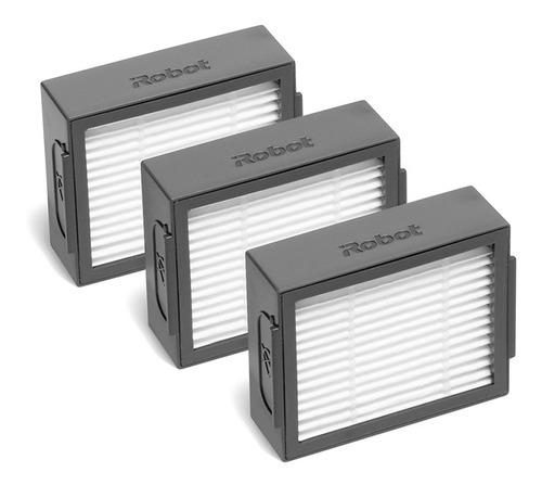 filtro hepa com 3 unidades compátivel para uso em robôs aspi