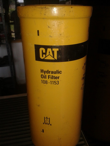 filtro hidraulico caterpillar   108-1153
