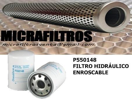 filtro hidráulico p550148
