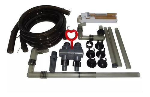 filtro hopar canister 3318 com uv de 9w e vazão 1800 l/h