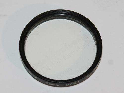 filtro hoya 49mm  uv (0)