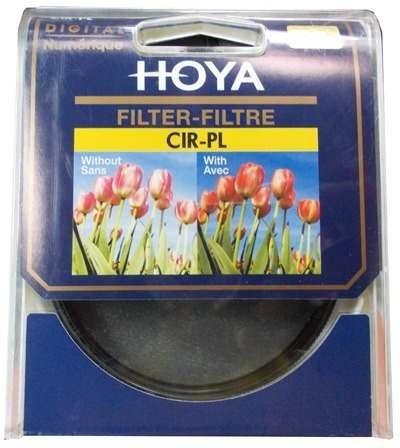 filtro hoya 52mm cir-l polarizador circular lente canon niko