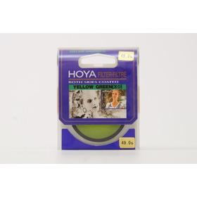 Filtro Hoya Yellow Green X0 49mm