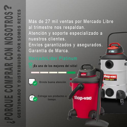 filtro hule para agua aspiradora micro 1 gal 90525 shop vac