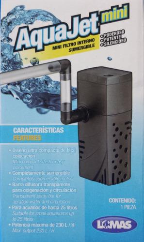 filtro interno aqua jet mini (25 lts)