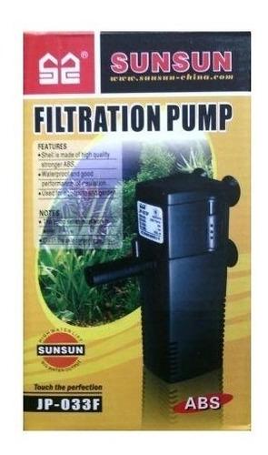 filtro interno com bomba jp-033f 600l/h 220v sunsun aquário