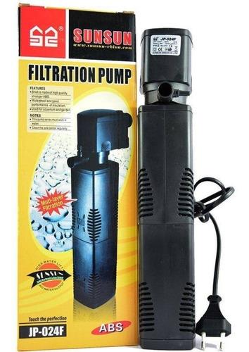filtro interno com bomba sunsun jp-024f 1200l/h para aquário