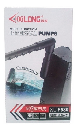 filtro interno flauta con motor 300 litros | acuario pecera