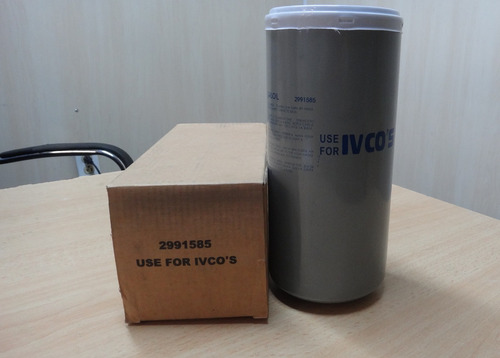 filtro iveco 2991585 33662 bf7696 p550472 ff5457 ff5313