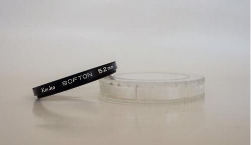 filtro kenko softon 52 mm