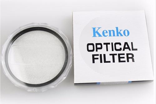 filtro kenko uv canon nikon sony 49,52,55,58,62,67,72,77,82