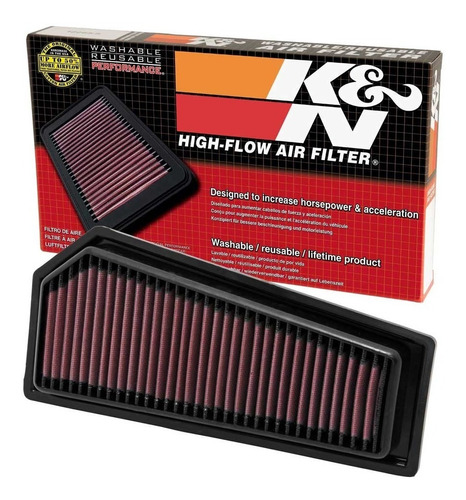 filtro k&n inbox mercedes c180 1.8 cgi 2010 a 2013 - 33-2965