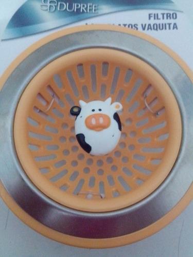 filtro lavaplatos vaquita dupree