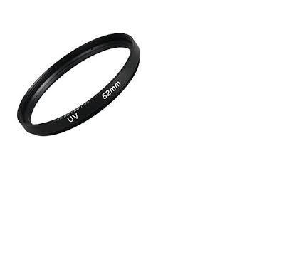 filtro lente uv 52mm para nikon canon yongnuo