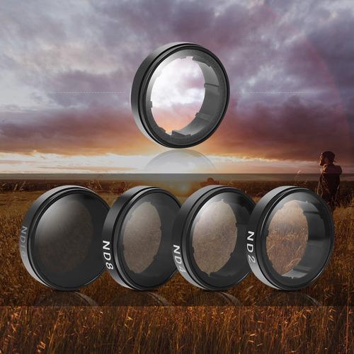 filtro lentes para camara gopro hero 4  3  set envio gratis