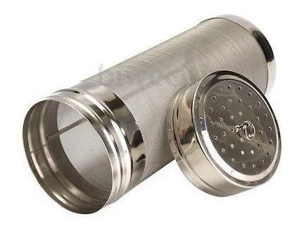 filtro mallado para lupulado, 18cm x 7cm. ideal dry hopping