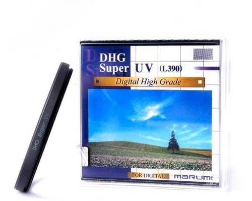 filtro marumi japon uv super dhg multicapa p/ lentes ø 55mm