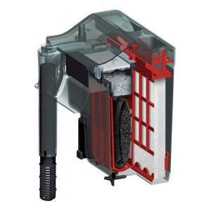 filtro mecanico de cascada fluval c2 38-115 lt 450l/h