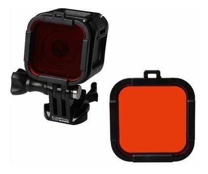 filtro mergulho vermelha red filter gopro hero 4 e 5 session