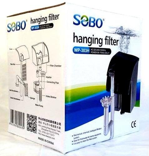 filtro mochila sobo wp-303h, 5w, en el centro de montevideo.