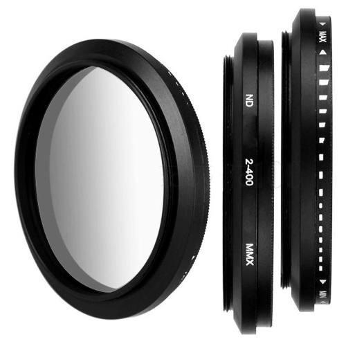 filtro nd 2-400 variável lente 82mm 82 mm canon nikon sony