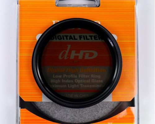 filtro nd densidade neutra variavel (nd2 - nd400) 52mm 52ø