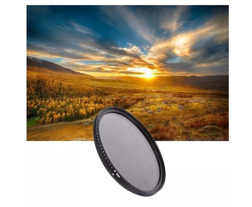 filtro nd variavel nd2 a nd400 77mm 72mm 67mm 62mm 58mm