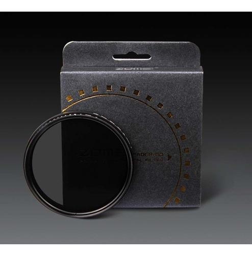 filtro nd zomei 77mm densidade neutra variável nd2 - nd400
