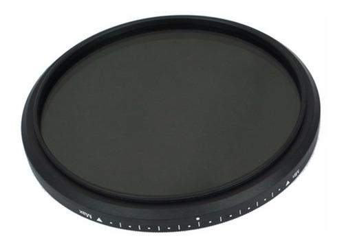 filtro nd2 até nd400 fader nd variável fotga 58mm
