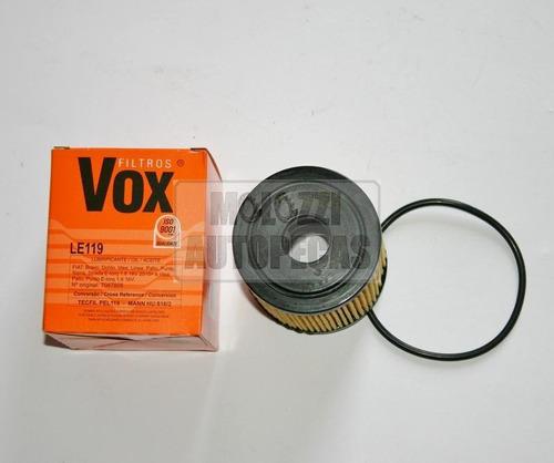 filtro oleo fiat novo palio 1.6 2011/ novo palio/siena/strad